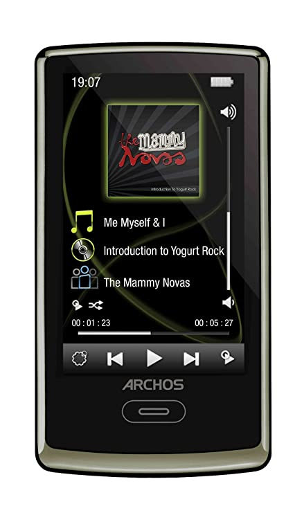 amazon com archos 3 vision 8 gb video mp3 player chocolate brown rh amazon com archos 2oc vision manual archos 2oc vision manual