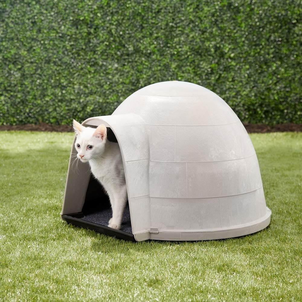 Petmate Kitty Kat Condo Outdoor Cat House