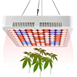 Aogled 1000W Grow Lights for Indoor Plants Full Spectrum,LED Panel Plant Light with Adjustable Rope for Indoor Hydroponic,Gre