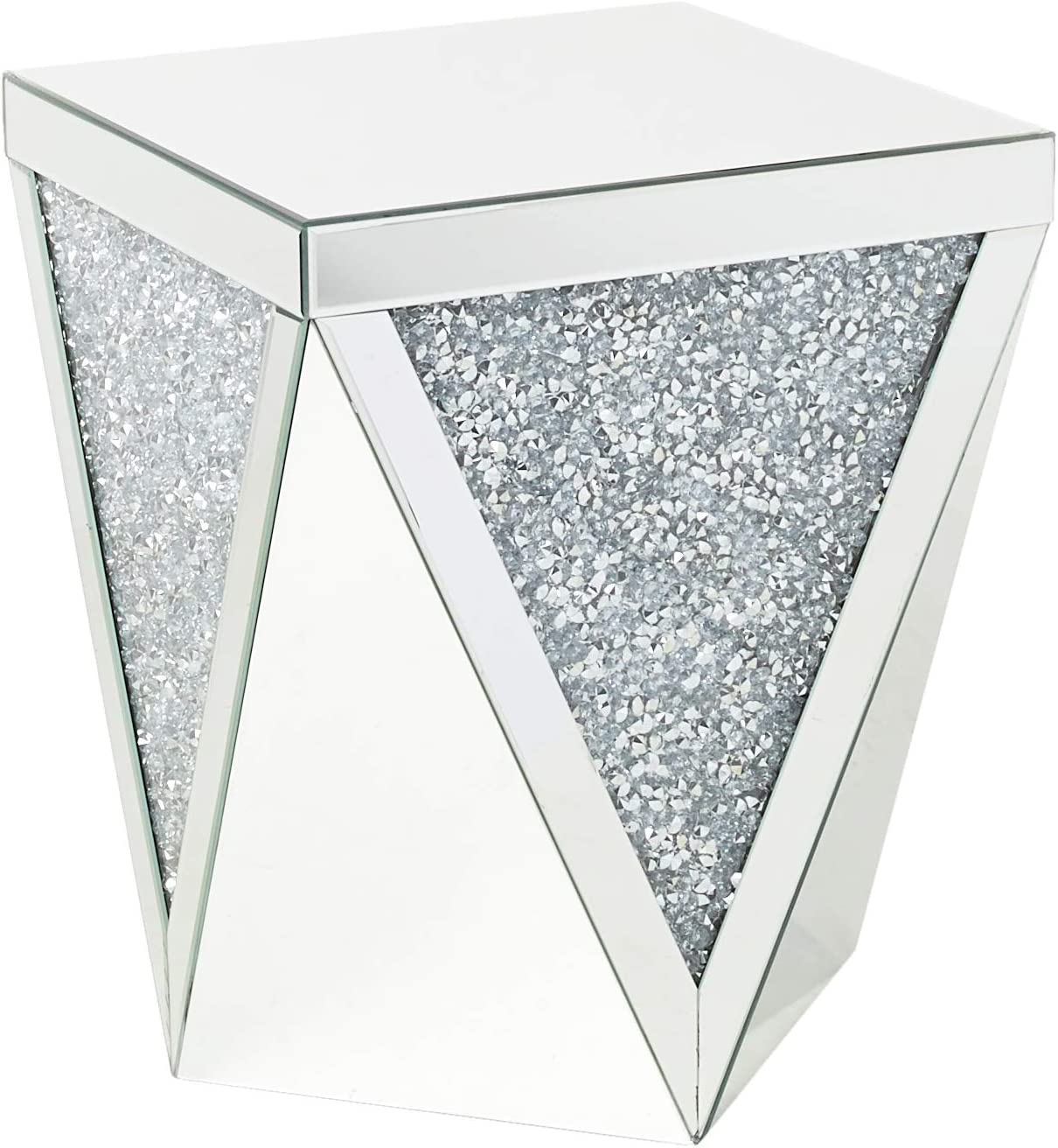 ACME Noralie End Table - 82772 - Mirrored