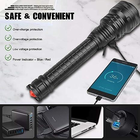 Mise Au Point R/églable Mini Lampe /Étanche Portable ,A Rouge//Vert//Bleu YMXLJ 303 Lampe De Poche USB Haute Puissance Accessoires De Chasse Jouet pour Chat