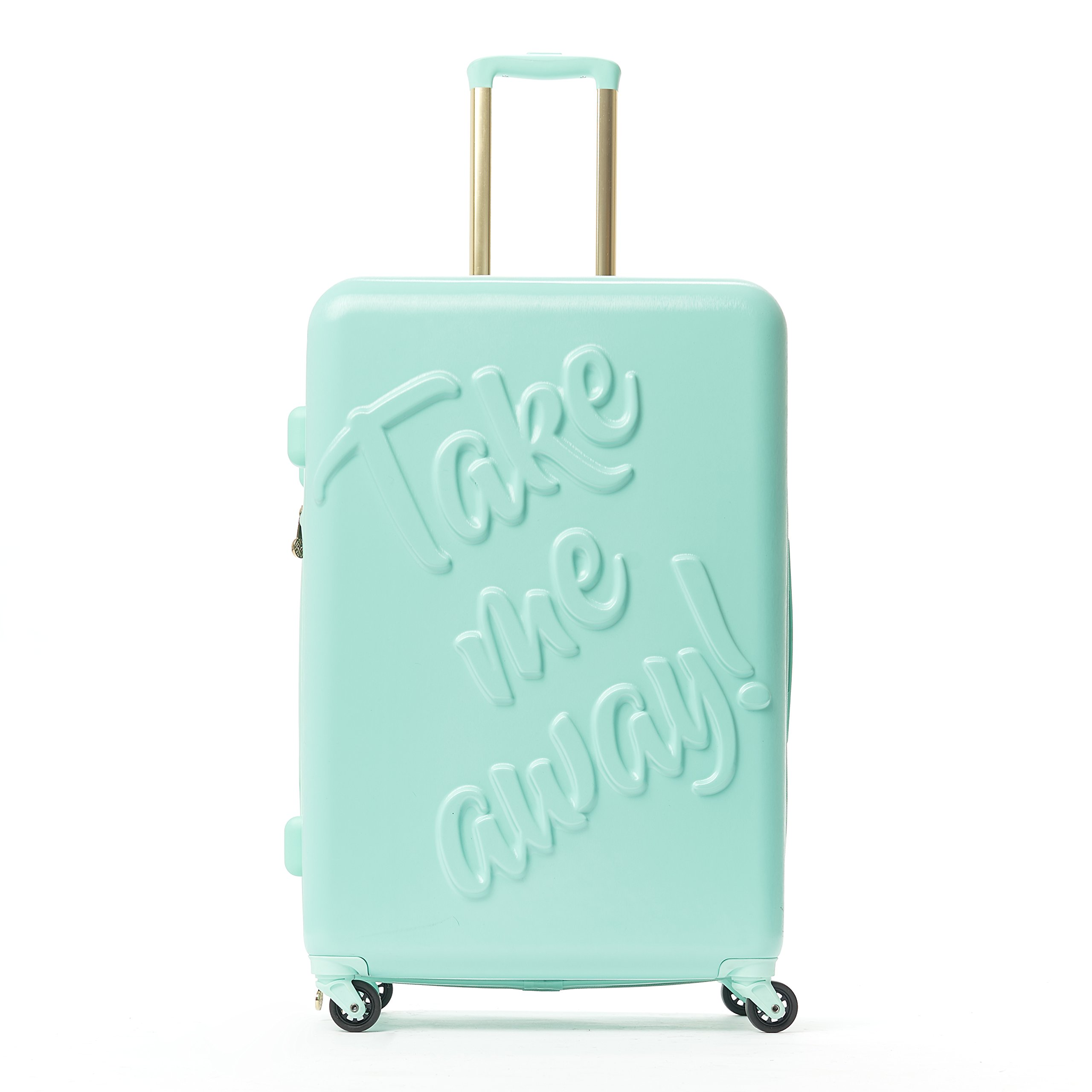 Macbeth Take me Away 29in Rolling Luggage Suitcase, Mint