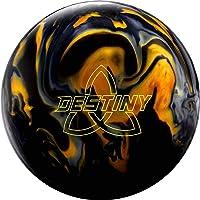 Ebonite Destiny Hybrid - Bola de bolos híbrida con núcleo asimétrico y superficie reactiva de perla, incluye limpiador…