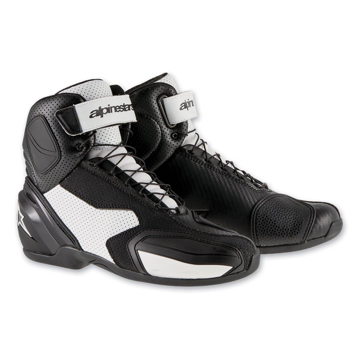 Alpinestars sp-1 Vented Shoes B0156WA72M Euro 38 ブラック/ホワイト ブラック/ホワイト Euro 38