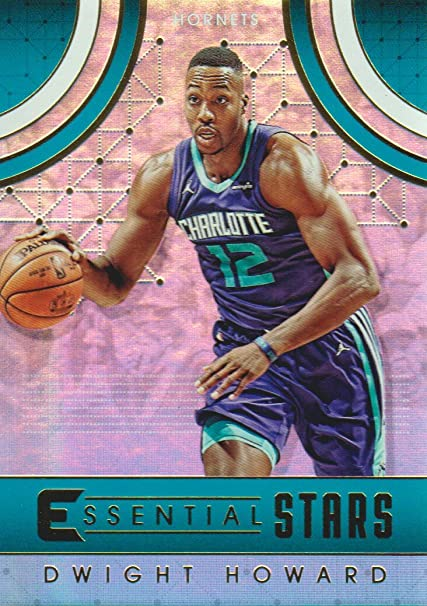 56360defe61 Image Unavailable. Image not available for. Color  2017-18 Panini  Essentials Basketball Essential Stars  ES-19 Dwight Howard Charlotte Hornets