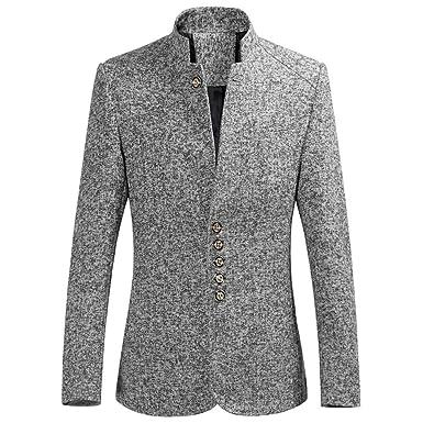3843ab1d39bc05 Battnot Herren Anzug Große Größen Fashion Slim Fit Blazer