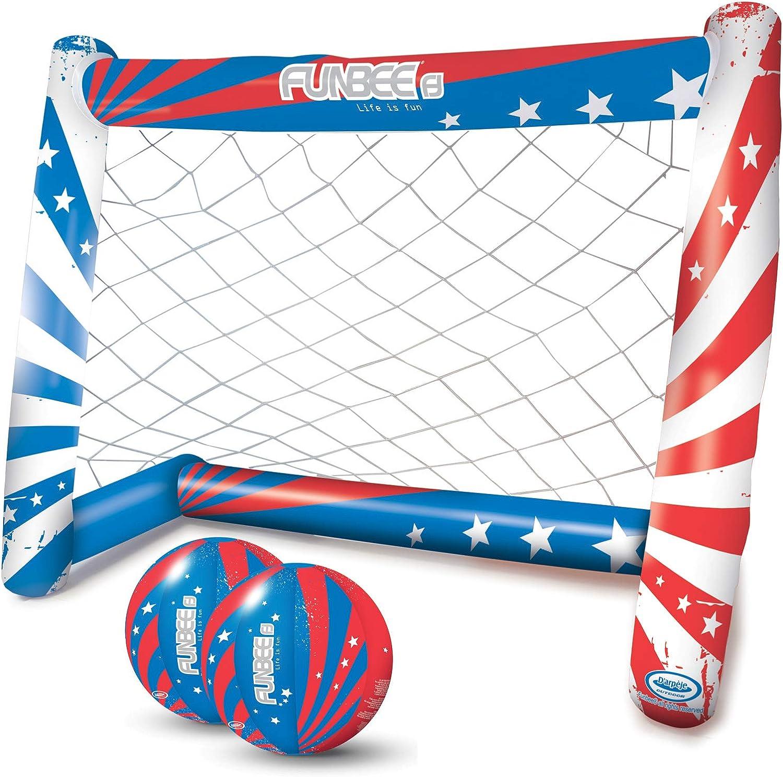 porterías inflables para la práctica del deporte por parte de los más pequeños
