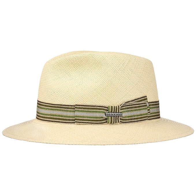 Stetson Cappello Panama Duran Traveller Paglia Estivo S (54-55 cm) - Natura eda68f5ec615