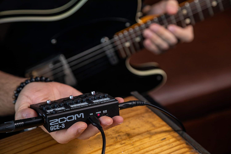 Zoom, Pedal de Efectos para Guitarra, 6 cm, Negro: Amazon.es: Equipaje