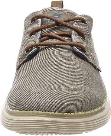 Skechers Status 2.0 Pexton, Zapatos de Cordones Derby para Hombre