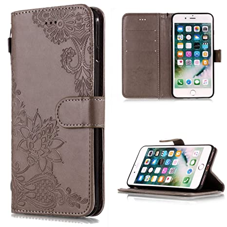 new product e8fb7 ee91b Amazon.in: Buy Bangcool iPhone 6 Plus Wallet Case Fashion Flip Cover ...