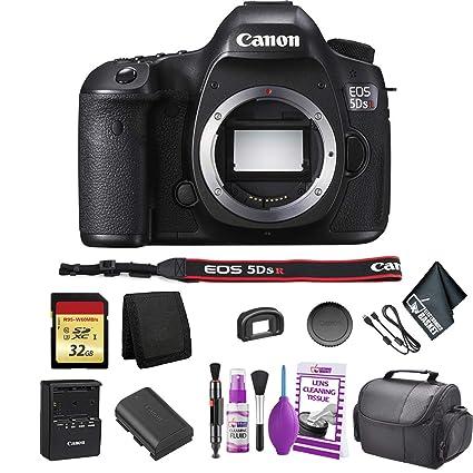 25e7f7871c7b Amazon.com : Canon EOS 5DS R DSLR Camera(Body Only) Bundle with 32GB ...