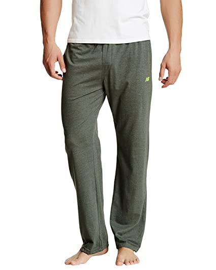 25952e29d95f2 New Balance Men's Contrast color waistband Cotton Knit PJ Lounge Pant -  Sage - Medium