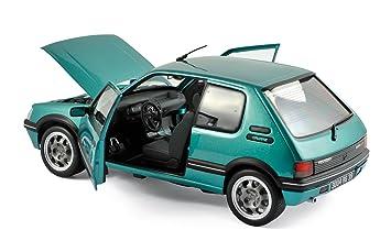 Véhicule Miniature - Peugeot 205 GTI Griffe 1.9L 1990 - Vert - Echelle 1: