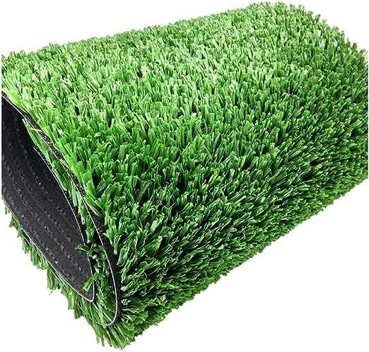 WJ Alfombra Simulación Artificial Verde Simulación Plástico Césped Alfombra Alfombra Jardín De Infancia Decoración De Césped Artificial Césped (Size : 2 * 6m): Amazon.es: Jardín