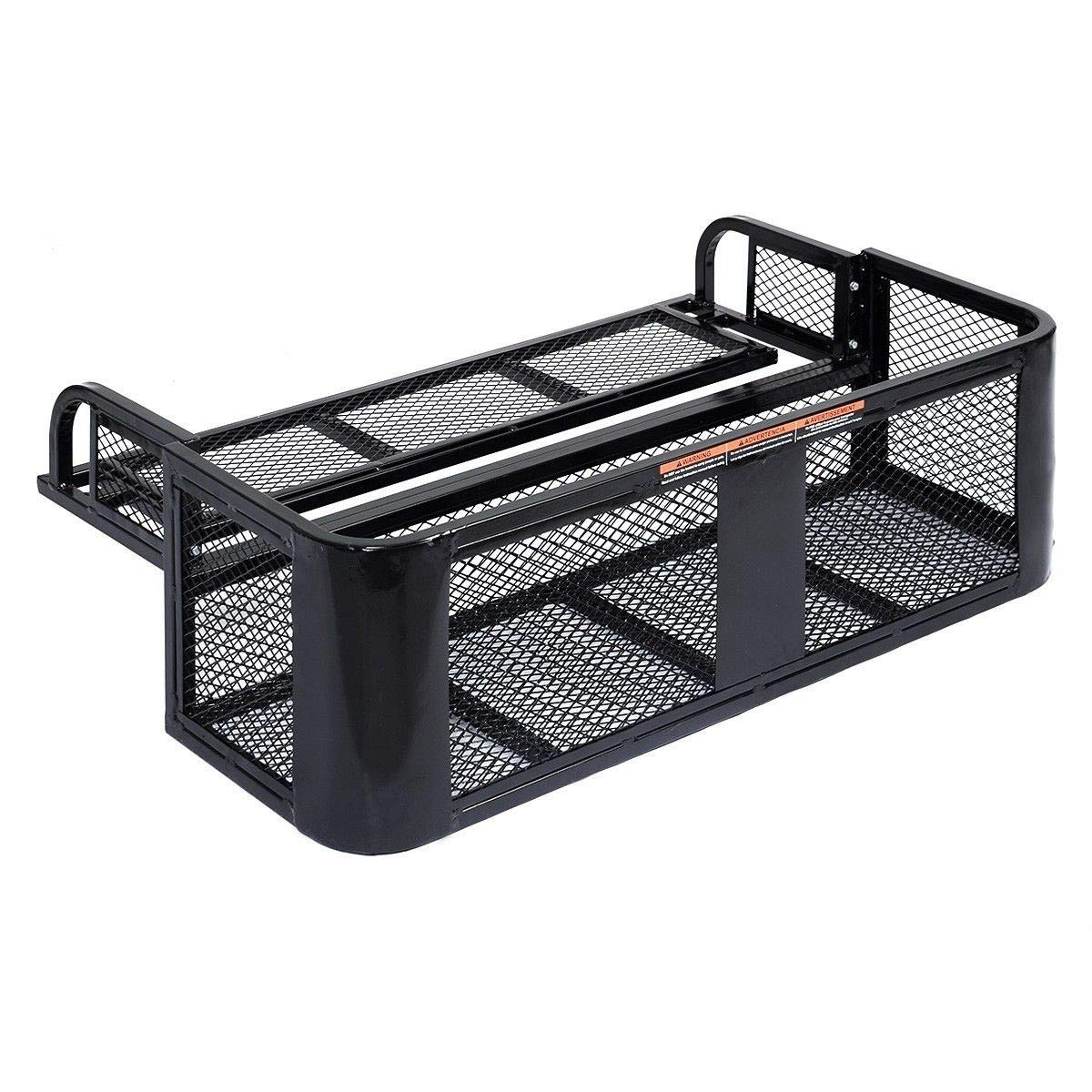 ATV UTV Universal Steel Cargo Hunting Rear Drop Basket Rack Universal Front Set by USA_BEST_SELLER (Image #6)