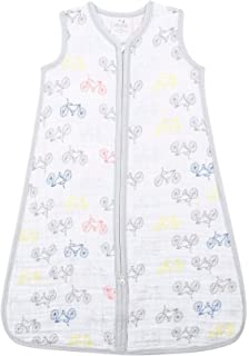 aden + anais Classic Sleeping Bag; 100% Cotton Muslin; Wearable Baby Blanket;