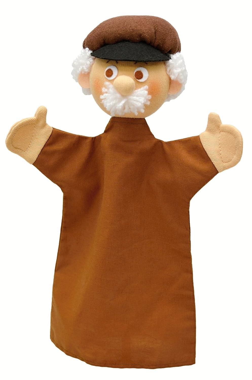 ABA 31 cm Old Man Hand Puppet (Multi-Colour) 71145