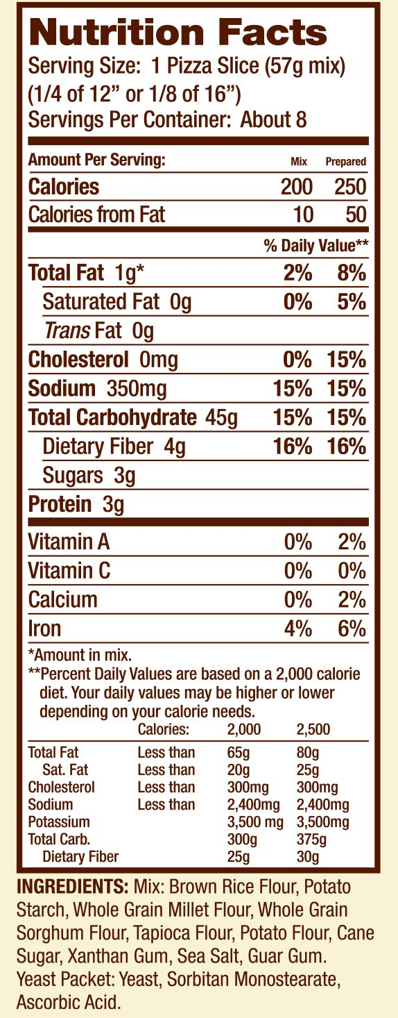 Gluten Free Pizza Crust Mix (16 Ounce) by Bob's Red Mill (Image #7)