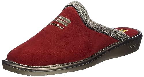 Nordikas Top Line, Zapatillas de Estar por casa para Mujer, (Rojo 019), 40 EU: Amazon.es: Zapatos y complementos