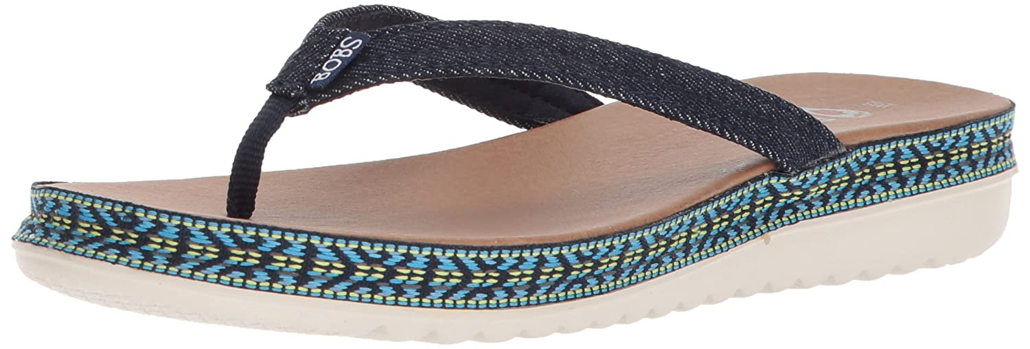 3919cf1ca706 Skechers Women s Bobs from Bobs Sunkiss-Star Fish Sandal Denim 5 B(M) US   Buy Online at Low Prices in India - Amazon.in