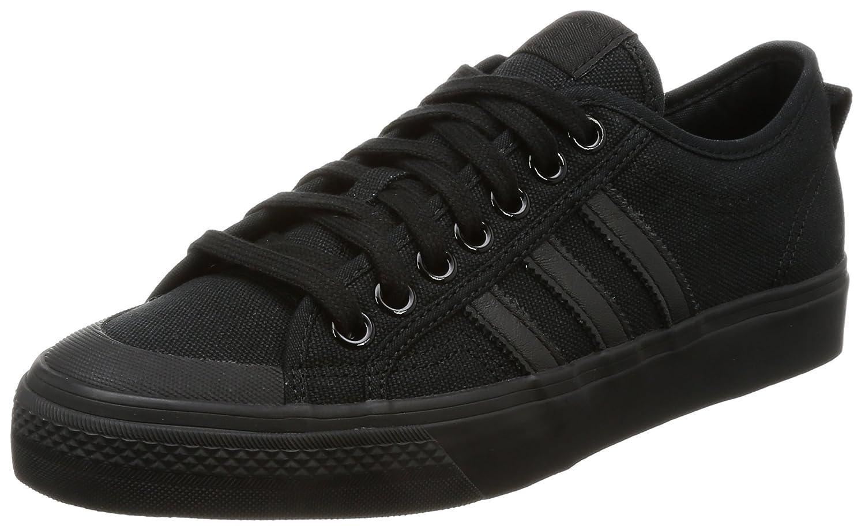 pretty nice 8290c 8740a Amazon.com   Adidas Nizza Mens Sneakers Black   Fashion Sneakers