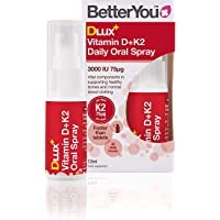 BetterYou DLux+ Vitamin D+K2 - 12ml (Pack of 2)