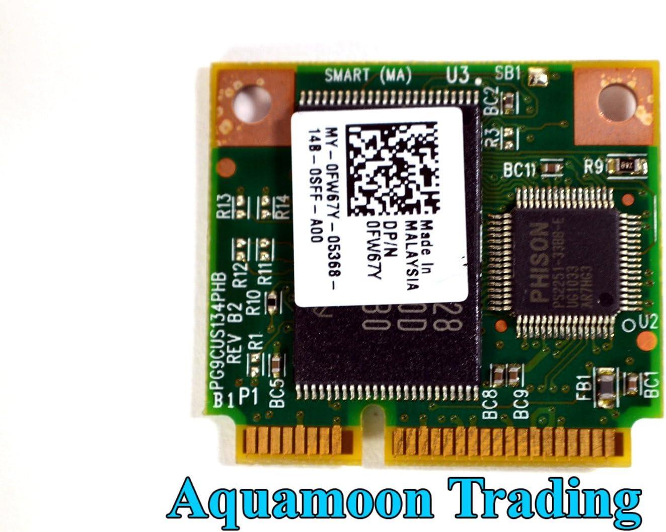 New Genuine OEM Dell FW67Y Latitude E4200 E4300 E4310 E6410 E6510 Z Precision M4500 M6500 Latitude ON Flash Fast-Boot Module Card Chip FW67Y C4VMX