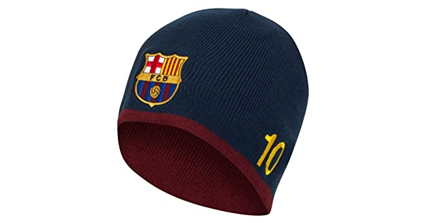69937c62f80 FC Barcelona Authentic Messi Knitted Hat