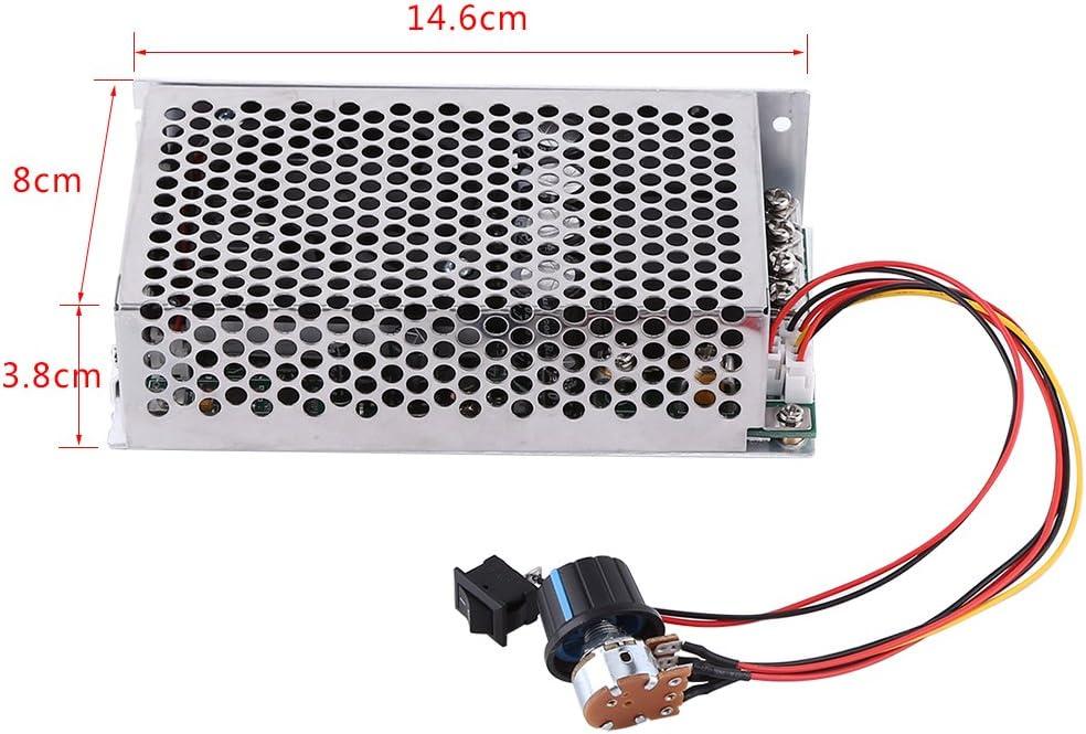 DC PWM Controlador de Velocidad del Motor DC 10-50V 3000W 100A ...