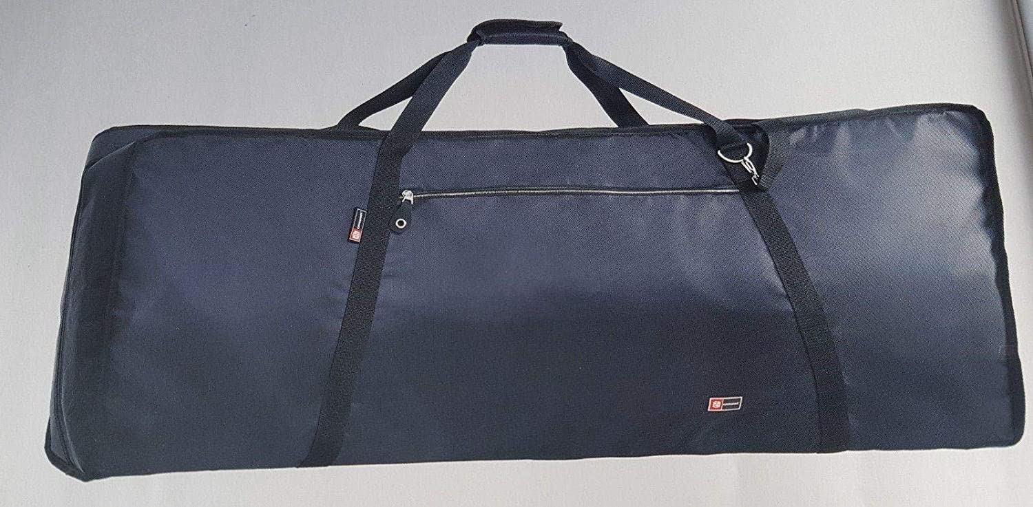 Crossrock 76 Note Keyboard Bag Heavy-Duty Padded Gig Bag with Shoulder Strap 1175x430x200mm CRA86012U
