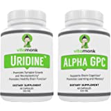 Alpha GPC and Uridine Stack - Mr Happy Stack - Uridine Monophosphate with No Artificial Fillers - Bioavailable Choline…