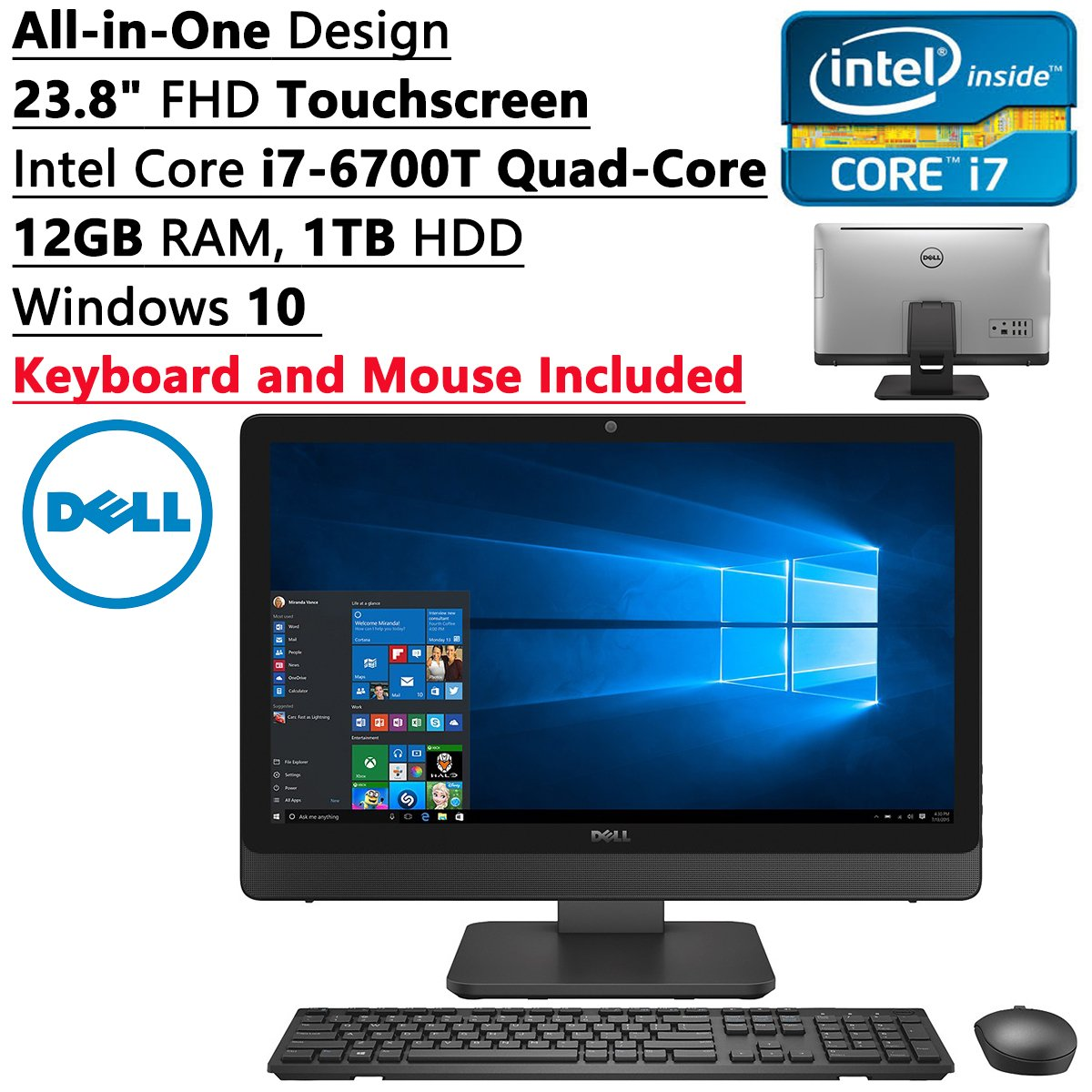 Acer Aspire 215inch Full Hd Allinone Desktop With Windows 10 Lenovo Ideacentre Aio 510 22ish Core I5 7100t 4gb Ddr4 1tb White Top Best All In One Touchscreen Computer 2016 2017 On Flipboard
