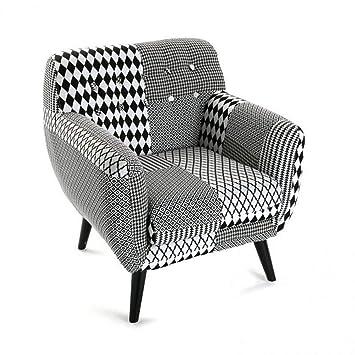 Inside Silla poulle, diseño de Pata de Gallo, Color Blanco y ...