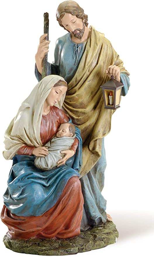 15.5 Holy Family Figure Statue Romans 11365