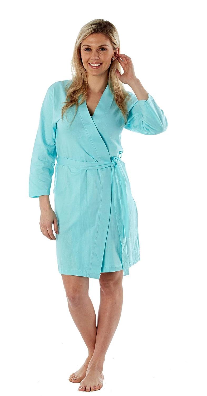 4825e7ebd75a3 Femmes Robe De Chambre Été Coton Robe Légère: Amazon.fr: Vêtements et  accessoires