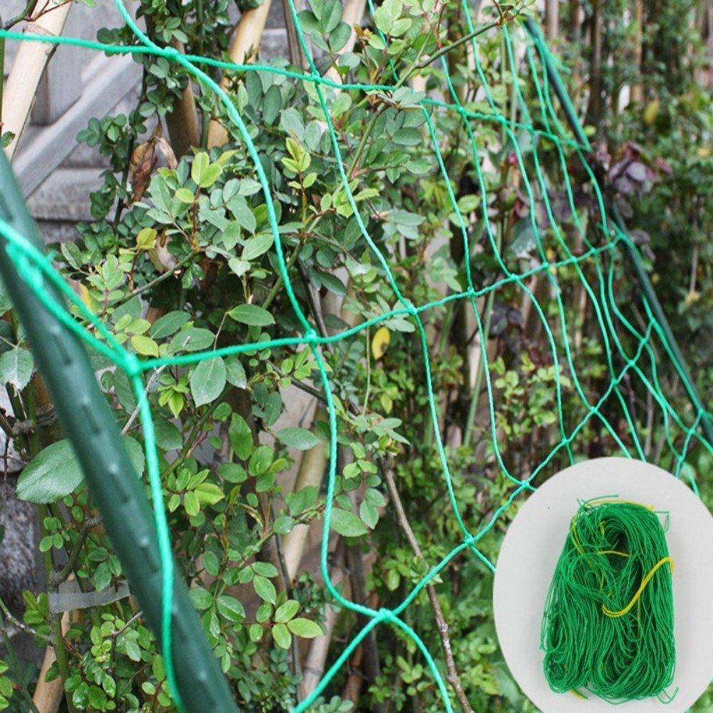 Mr.Garden Heavy-duty PE Plant Trellis Netting Green Garden Netting 1.97''-18 W5'xL30'