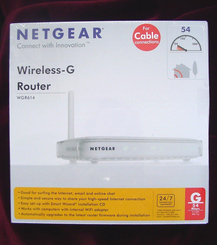 Netgear WGR614UK Wireless-G Router