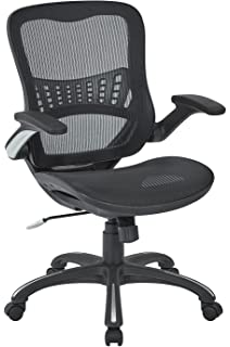 Office Star Mesh Back U0026 Seat, 2 To 1 Synchro U0026 Lumbar Support