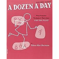 A Dozen a Day Volume 3 (Rouge) - Piano