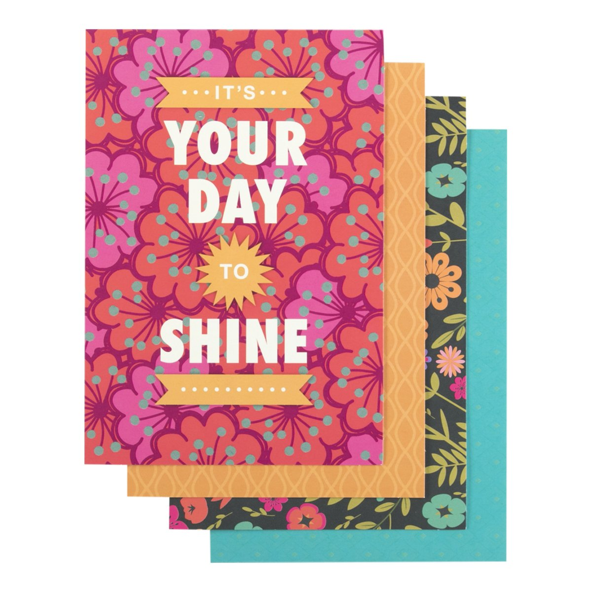 DaySpring Birthday Boxed Greeting Cards w Embossed Envelopes - Joy, 12 Count (44457) DaySpring Company