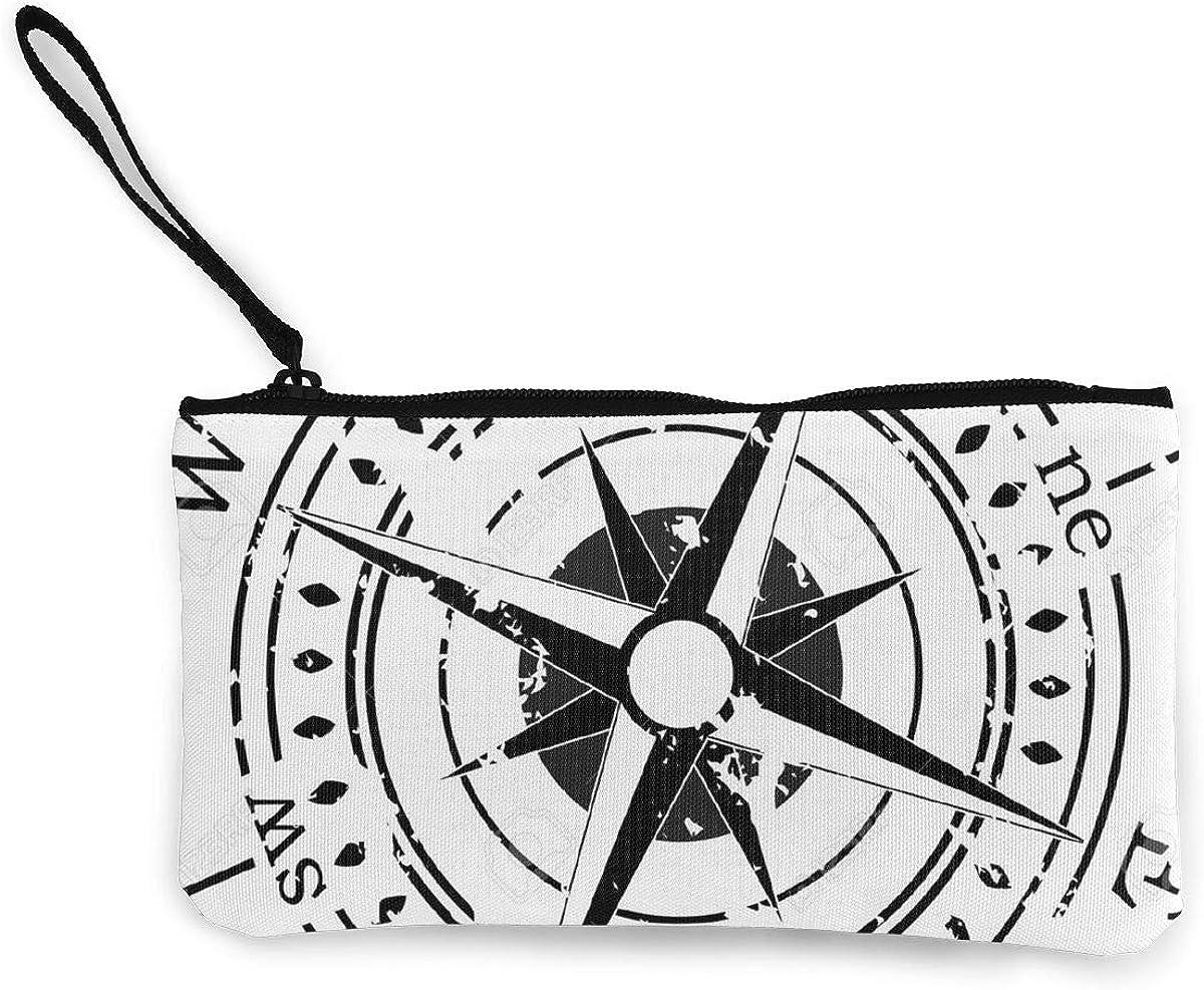 Coin Purse Compass White...