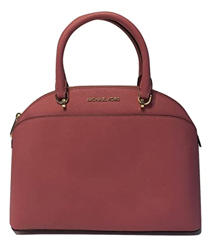 7663d25570bf9b MICHAEL Michael Kors Emmy Large Dome Satchel Tulip: Handbags: Amazon.com