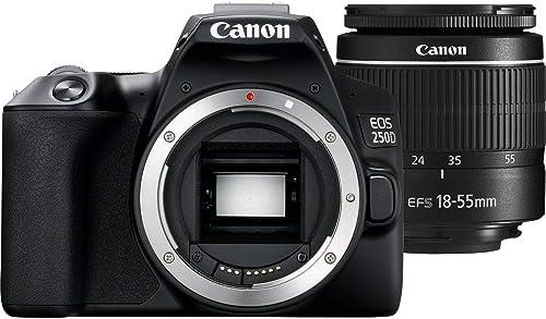 Canon EOS 250D (Rebel SL3) DSLR Camera
