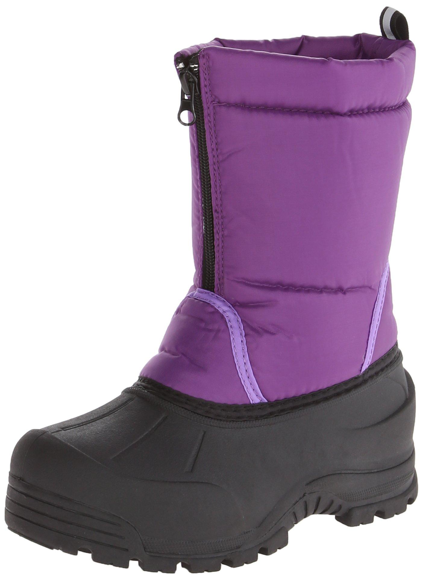 Northside Icicle Winter Unisex Boot (Toddler/Little Kid/Big Kid),Purple,4 M US Big Kid
