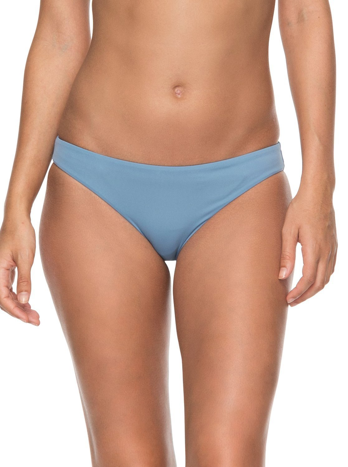 Roxy Junior's Solid Softly Love Reversible Scooter Bottom, Blue Shadow, M