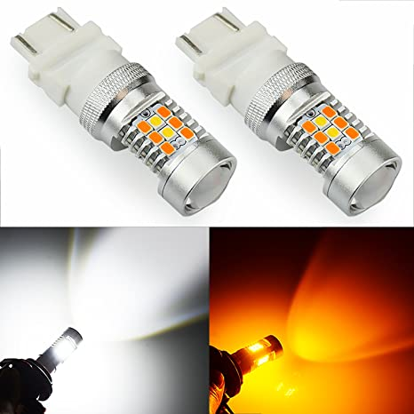 JDM ASTAR Extremely Bright PX Chipsets White/Yellow 3157 3155 3457 4157 Switchback LED Bulbs  sc 1 st  Amazon.com & Amazon.com: JDM ASTAR Extremely Bright PX Chipsets White/Yellow 3157 ...