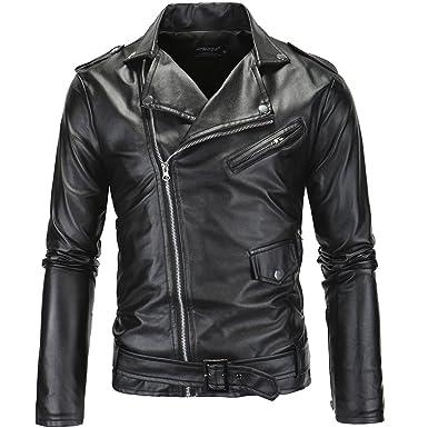 Simili Vestes en cuir homme de couleur noir comparez et