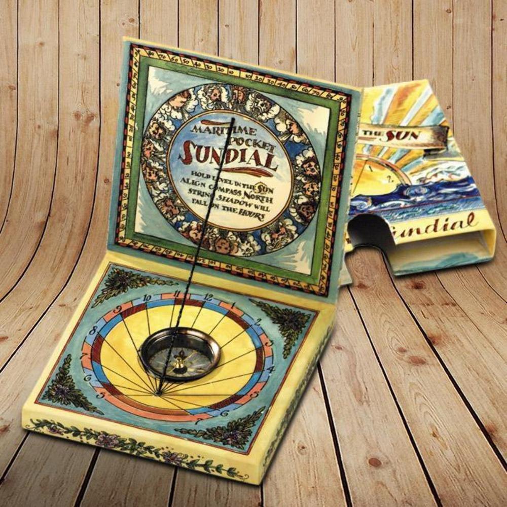 Maritime Pocket Sundial Authentic Models