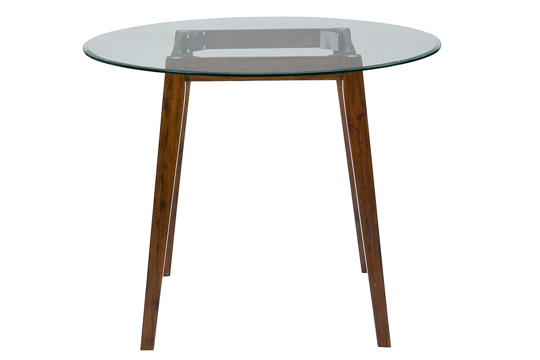 Jofran: 505-50BG48RDKT, Plantation, Glass Round Counter Height Table, 48